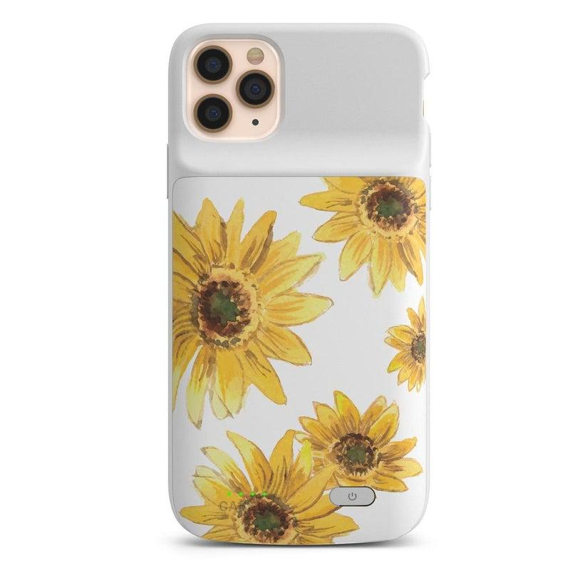 Bright Yellow Sunflowers Case iPhone Case get.casely Power 2.0 iPhone 11 Pro Max
