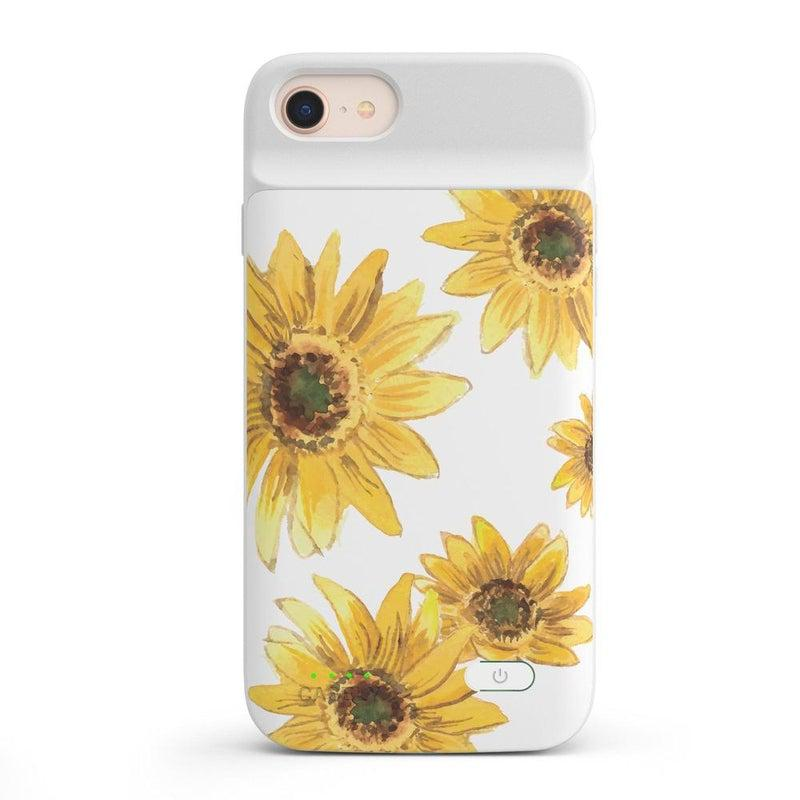 Bright Yellow Sunflowers Case iPhone Case get.casely Power 2.0 iPhone SE (2020)