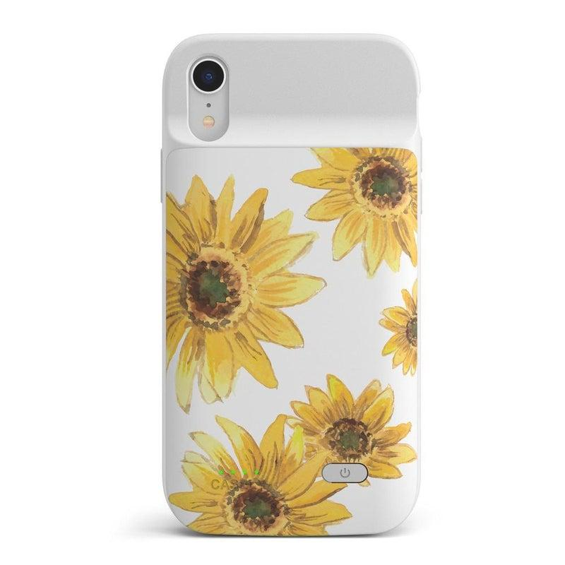 Bright Yellow Sunflowers Case iPhone Case get.casely Power 2.0 iPhone XR