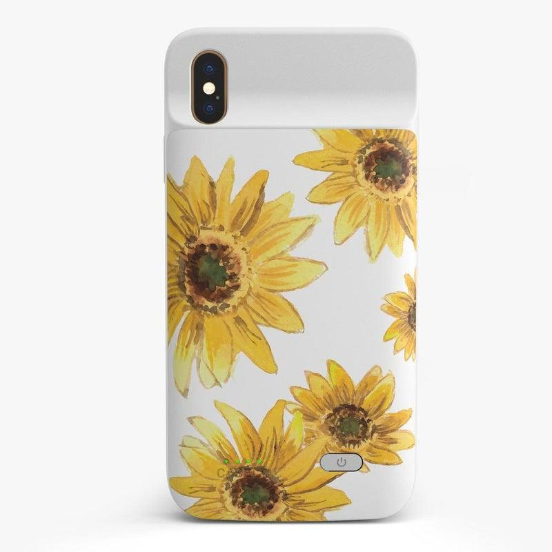 Bright Yellow Sunflowers Case iPhone Case get.casely Power 2.0 iPhone XS Max