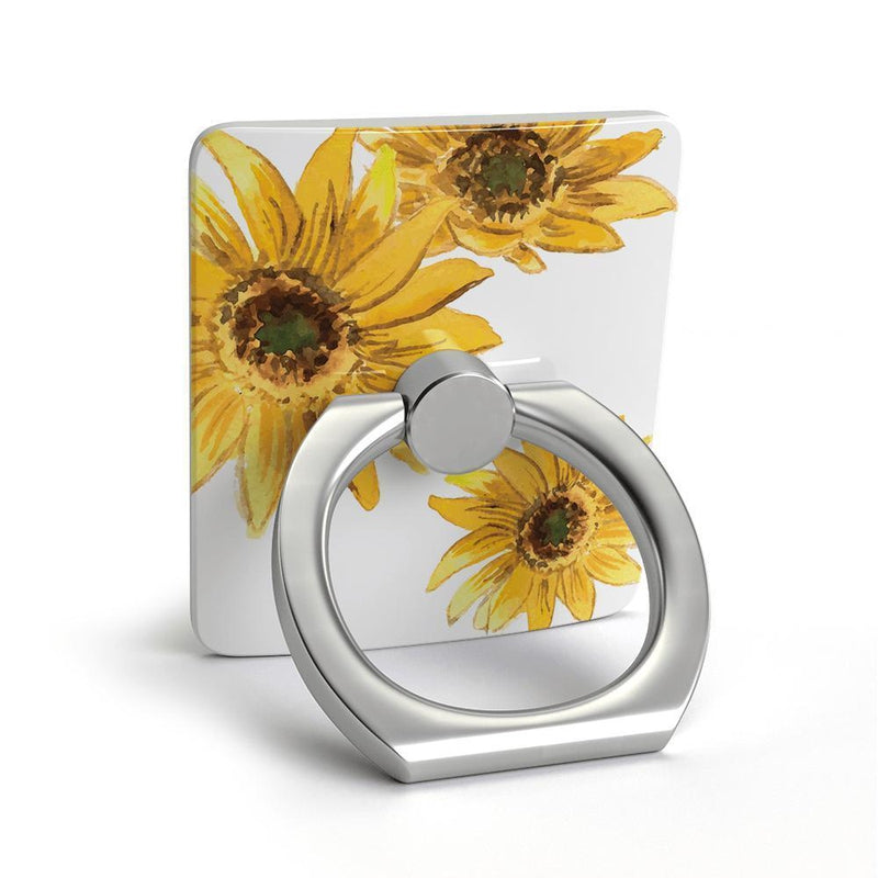 Bright Yellow Sunflowers Phone Ring Phone Ring get.casely
