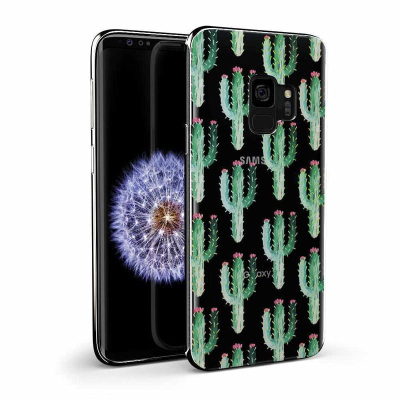 Cactus Patterned Clear Case iPhone Case Get.Casely