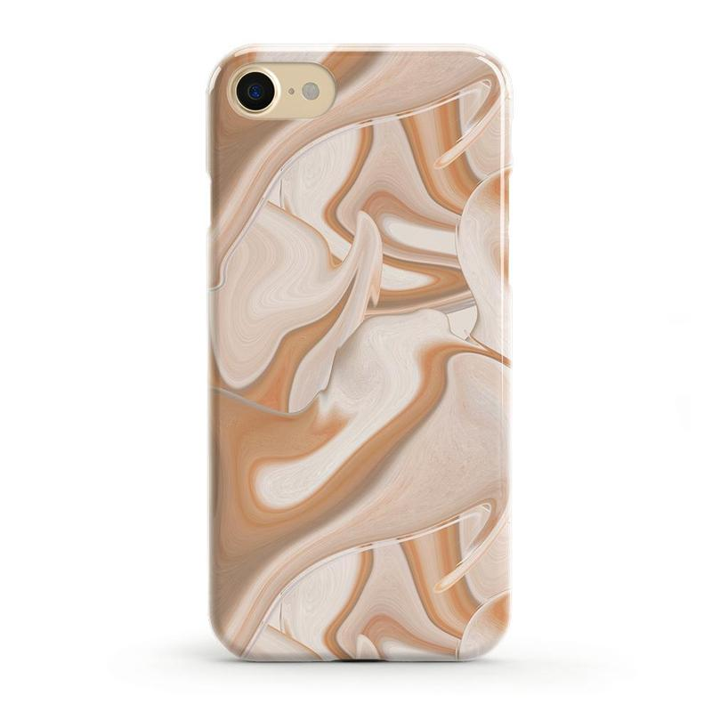 Caramel Delight | Marble Swirl Case iPhone Case get.casely Classic iPhone SE (2020)