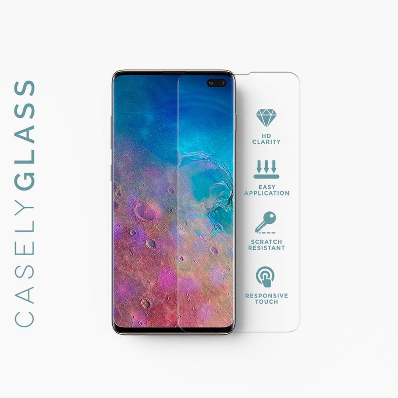 Casely Glass | Premium Tempered Glass Screen Protector Accessories Get.Casely Galaxy S9