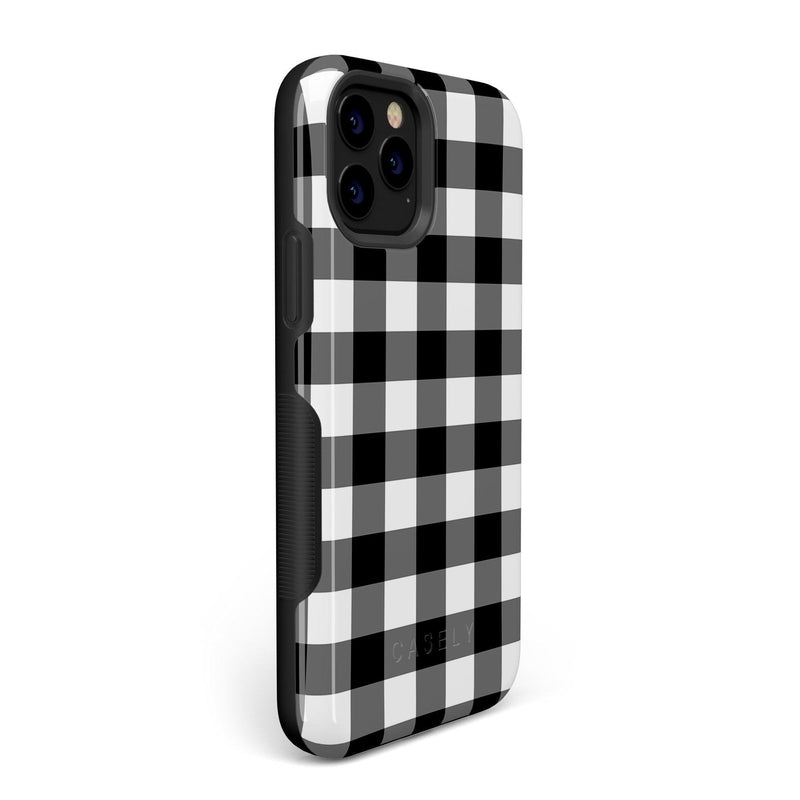 Check Me Out | Checkerboard Case iPhone Case Get.Casely