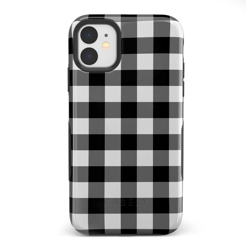 Check Me Out | Checkerboard Case iPhone Case Get.Casely Bold iPhone 11