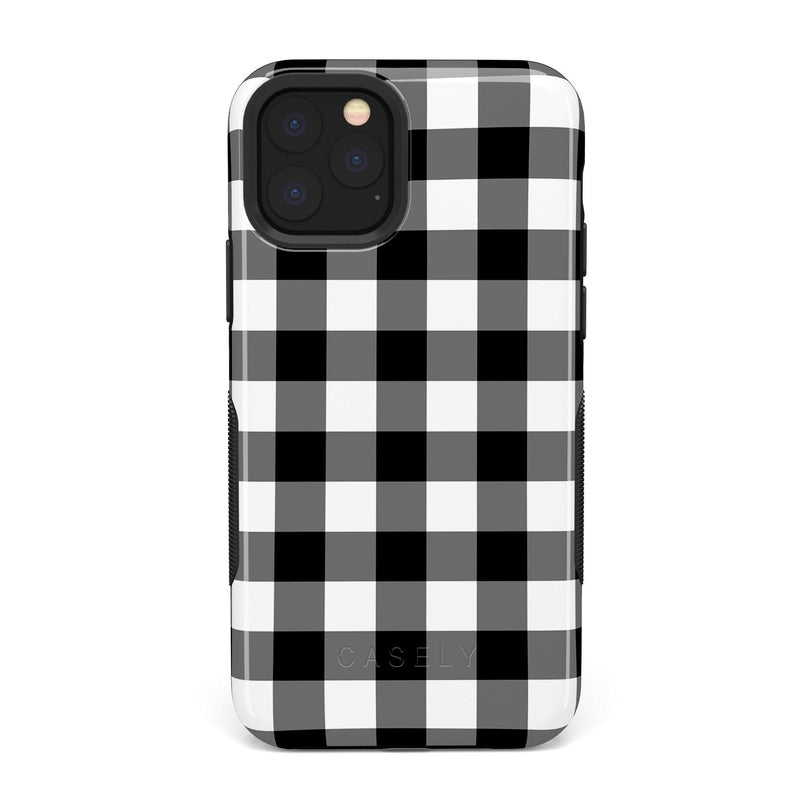 Check Me Out | Checkerboard Case iPhone Case Get.Casely Bold iPhone 11 Pro