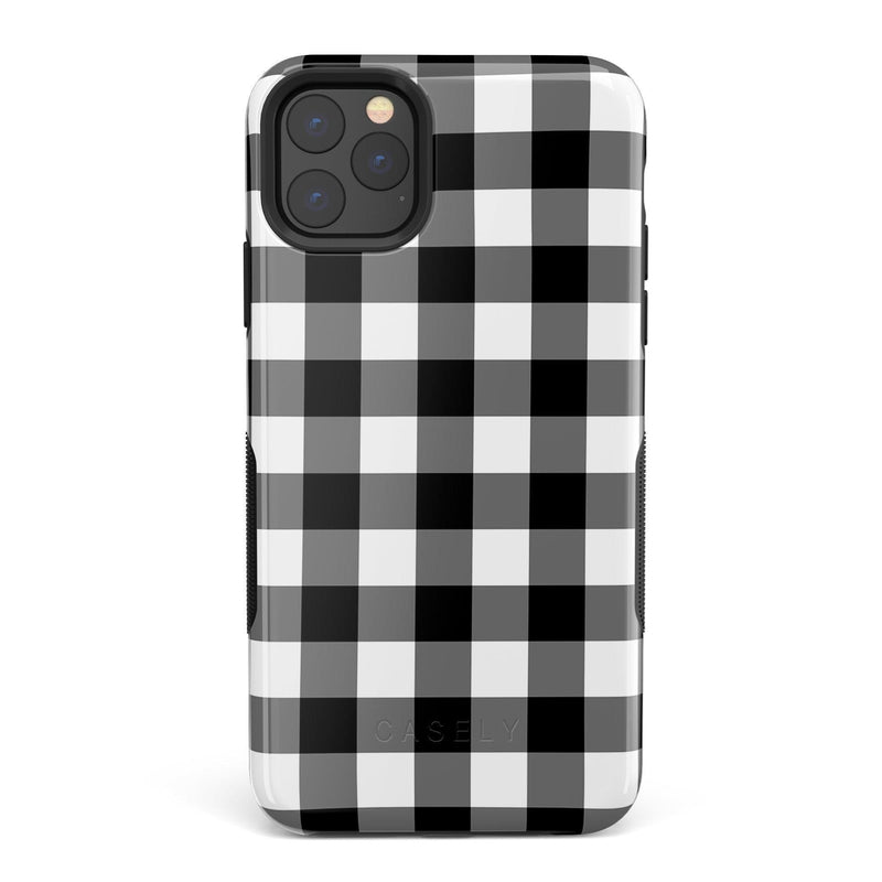 Check Me Out | Checkerboard Case iPhone Case Get.Casely Bold iPhone 11 Pro Max