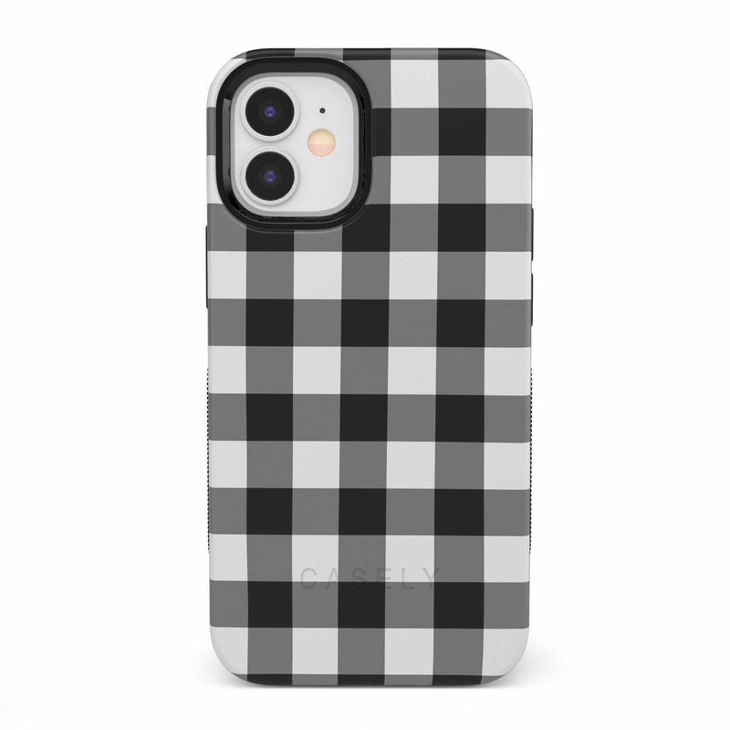 Check Me Out | Checkerboard Case iPhone Case get.casely Bold iPhone 12 Mini