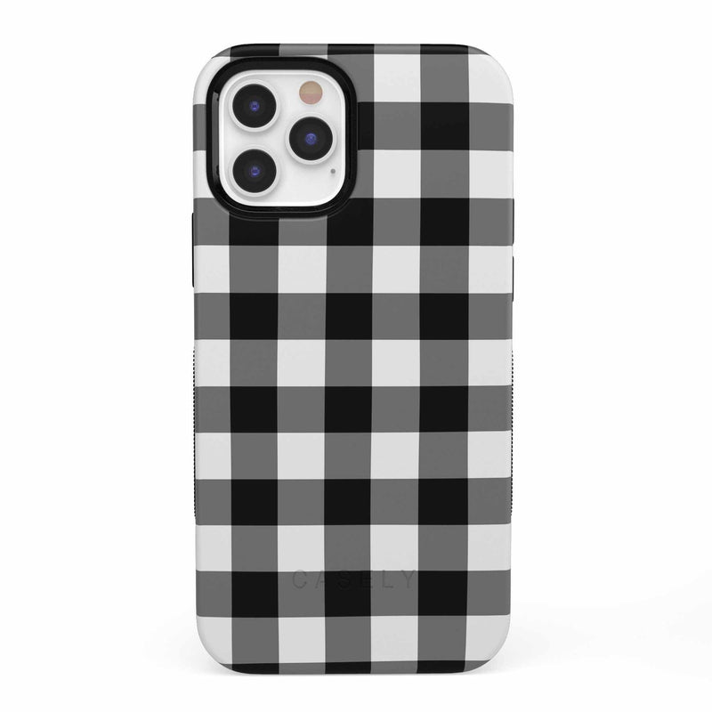 Check Me Out | Checkerboard Case iPhone Case get.casely Bold iPhone 12 Pro