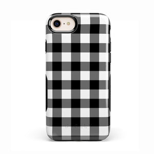 Check Me Out | Checkerboard Case iPhone Case Get.Casely Bold iPhone 8