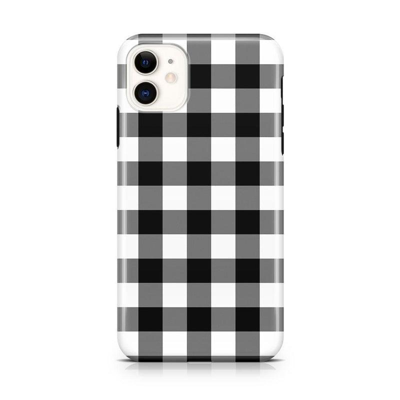 Check Me Out | Checkerboard Case iPhone Case Get.Casely Classic iPhone 11
