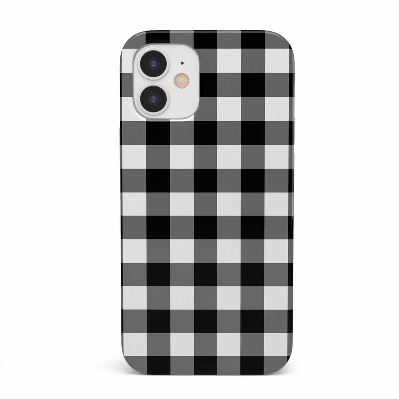 Check Me Out | Checkerboard Case iPhone Case get.casely Classic iPhone 12 Mini