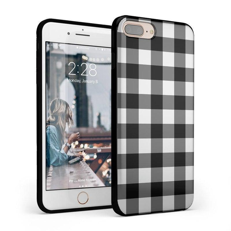 Check Me Out | Checkerboard Case iPhone Case Get.Casely Classic iPhone 6/6s Plus