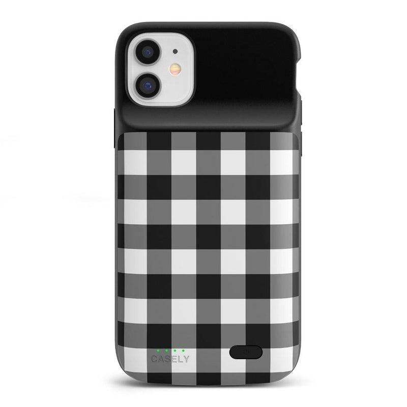 Check Me Out | Checkerboard Case iPhone Case get.casely Power 2.0 iPhone 12