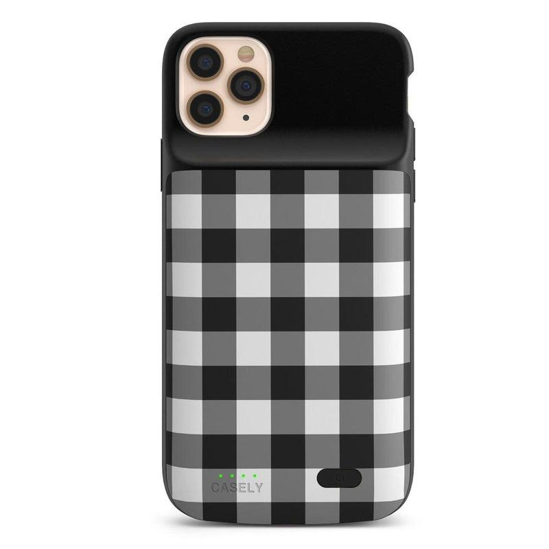 Check Me Out | Checkerboard Case iPhone Case get.casely Power 2.0 iPhone 12 Pro Max