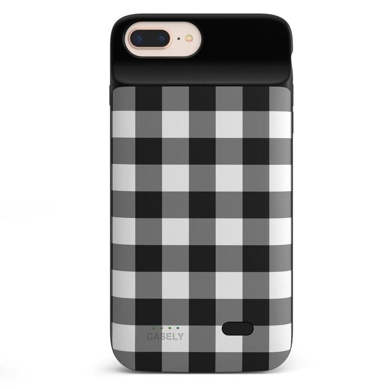 Check Me Out | Checkerboard Case iPhone Case get.casely Power 2.0 iPhone 8 Plus