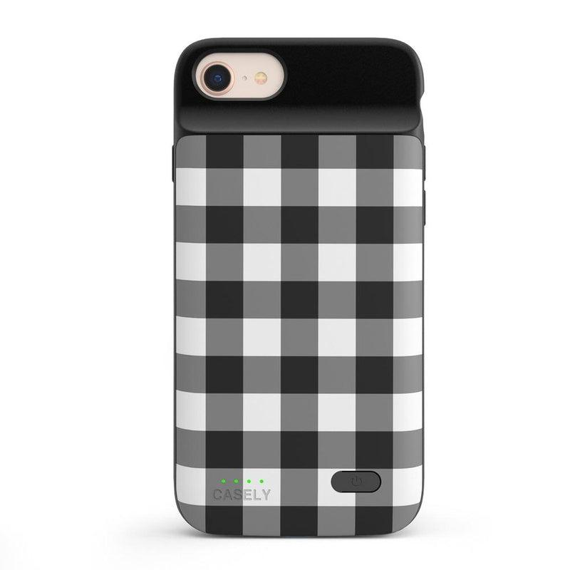Check Me Out | Checkerboard Case iPhone Case get.casely Power 2.0 iPhone SE (2020)