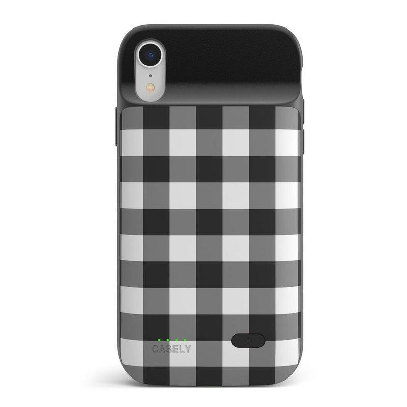 Check Me Out | Checkerboard Case iPhone Case get.casely Power 2.0 iPhone XR