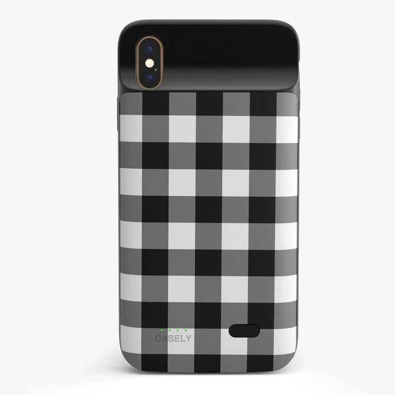 Check Me Out | Checkerboard Case iPhone Case get.casely Power 2.0 iPhone XS Max