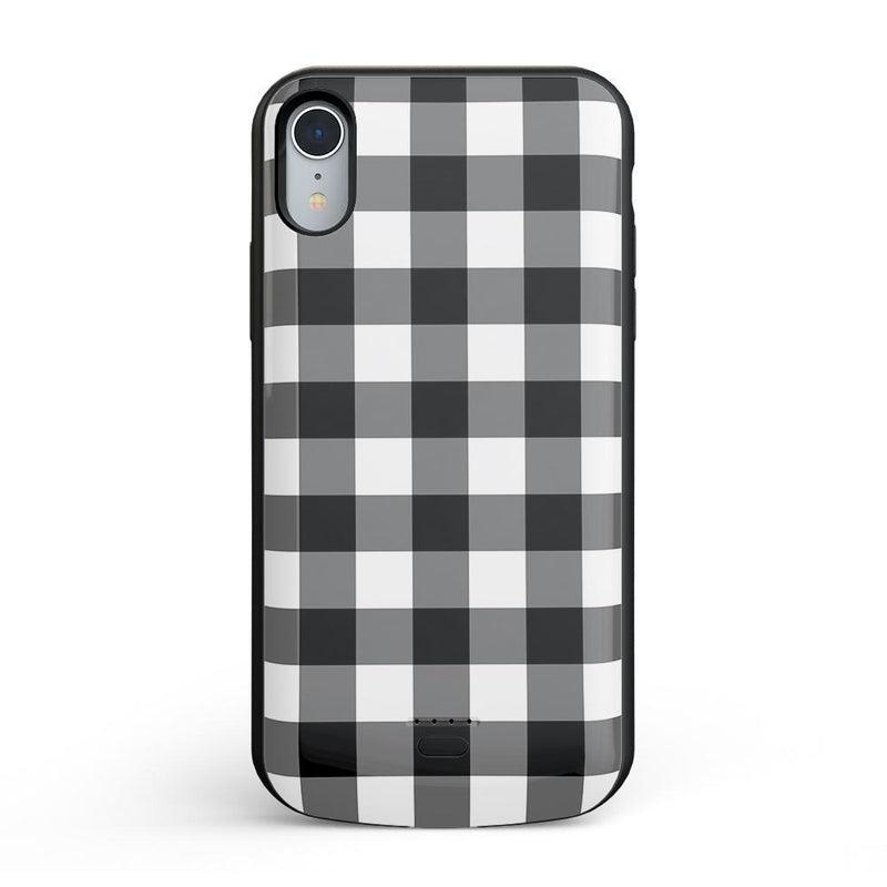 Check Me Out | Checkerboard Case iPhone Case Get.Casely Power iPhone XR