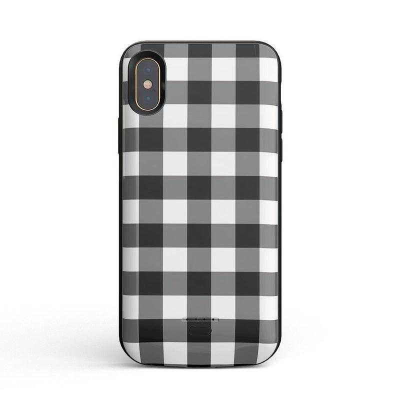 Check Me Out | Checkerboard Case iPhone Case Get.Casely Power iPhone XS Max