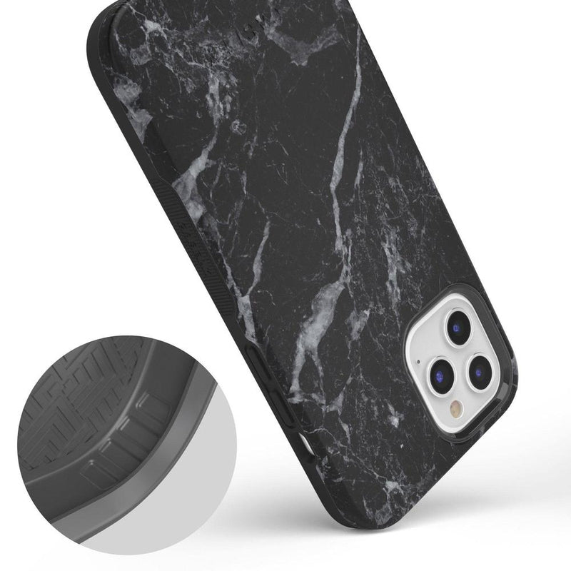 Classic Black Marble Case iPhone Case get.casely