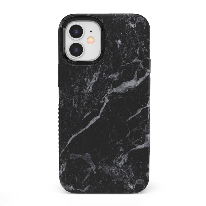 Classic Black Marble Case iPhone Case get.casely Bold + MagSafe® iPhone 12
