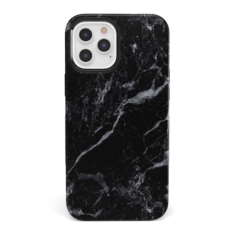 Classic Black Marble Case iPhone Case get.casely Bold + MagSafe® iPhone 12 Pro Max