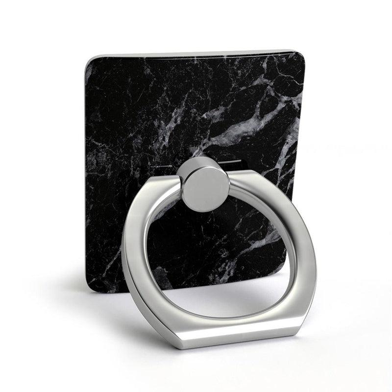 Classic Black Marble Phone Ring Phone Ring get.casely