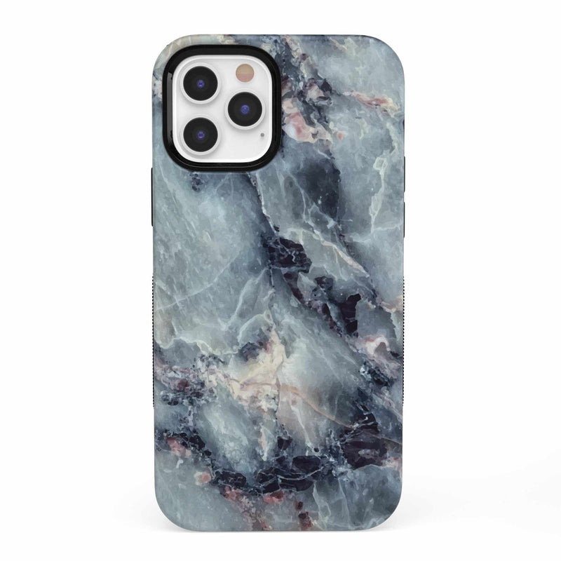 Classic Blue Marble Case iPhone Case get.casely Bold iPhone 12 Pro