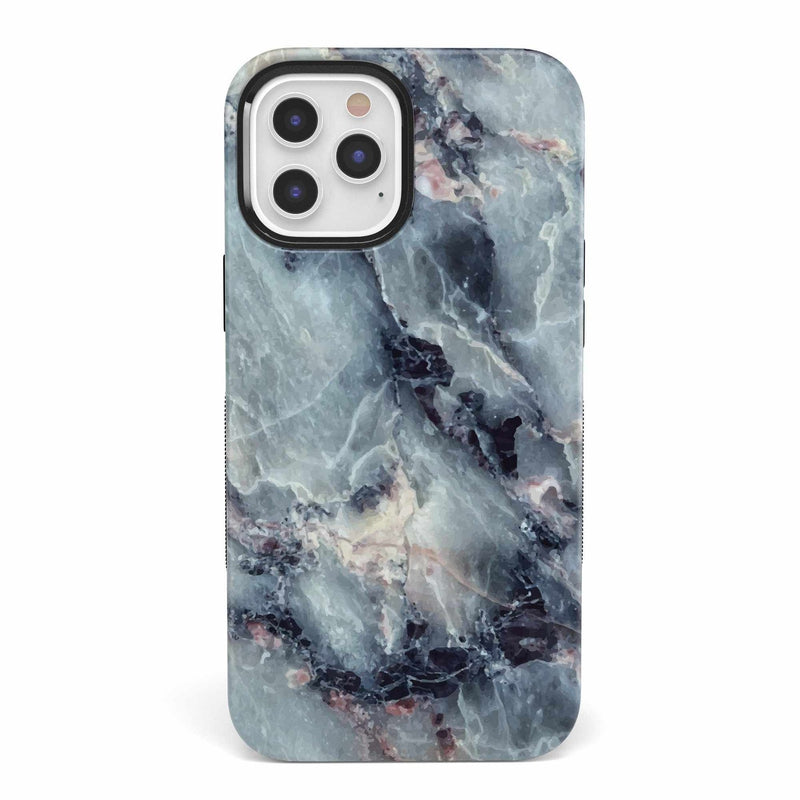 Classic Blue Marble Case iPhone Case get.casely Bold iPhone 12 Pro Max
