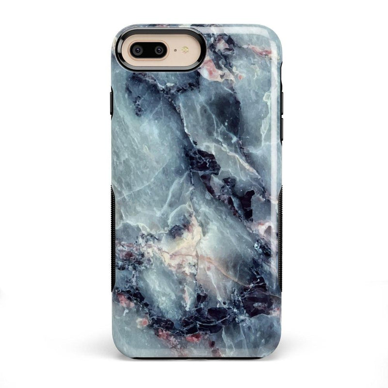 Classic Blue Marble Case iPhone Case Get.Casely Bold iPhone 8 Plus