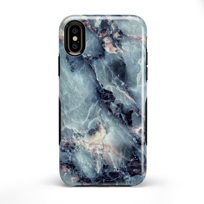 Classic Blue Marble Case iPhone Case Get.Casely Bold iPhone X / XS