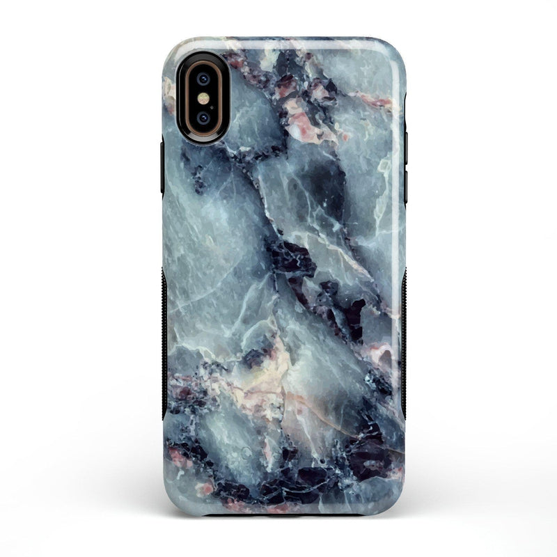 Classic Blue Marble Case iPhone Case Get.Casely Bold iPhone XS Max