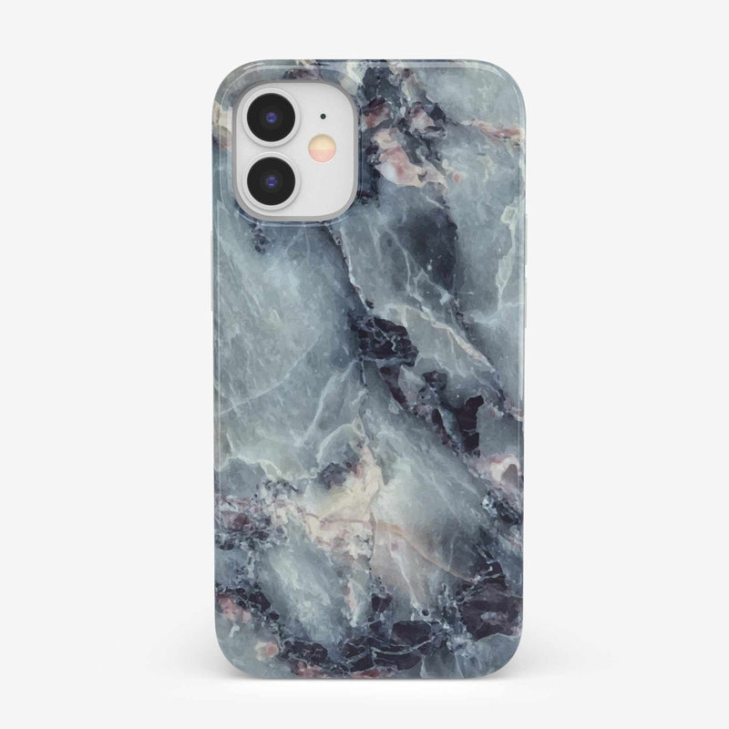 Classic Blue Marble Case iPhone Case get.casely Classic iPhone 12 Mini