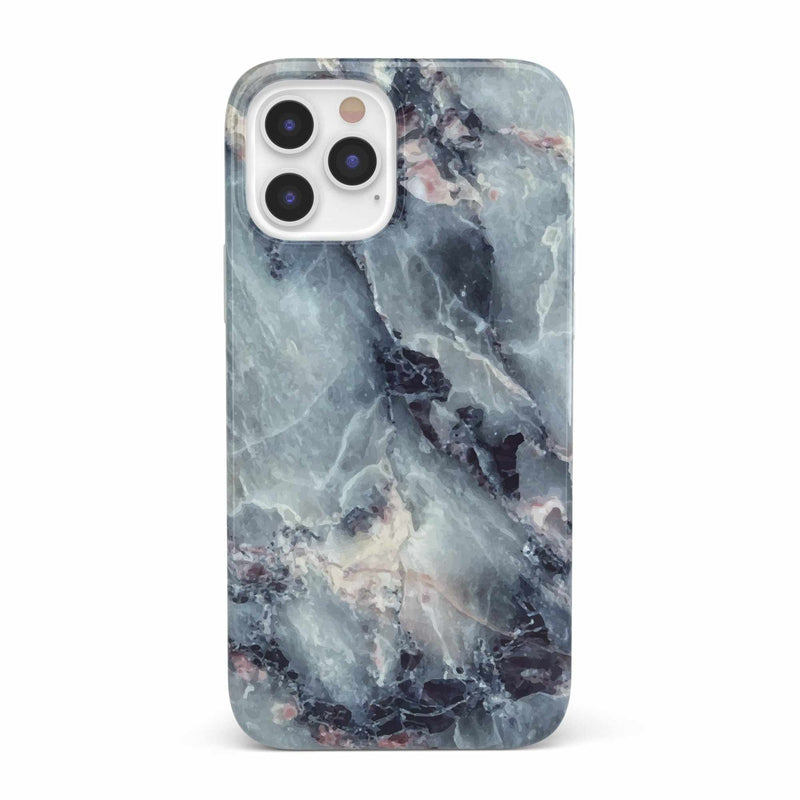 Classic Blue Marble Case iPhone Case get.casely Classic iPhone 12 Pro