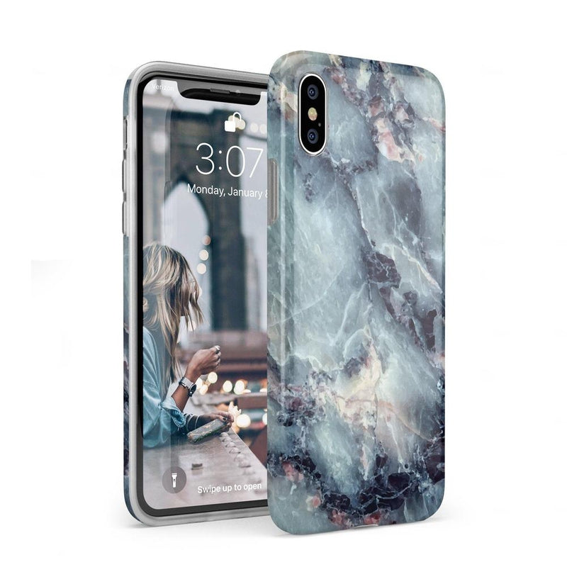 Classic Blue Marble Case iPhone Case Get.Casely Classic iPhone XS Max