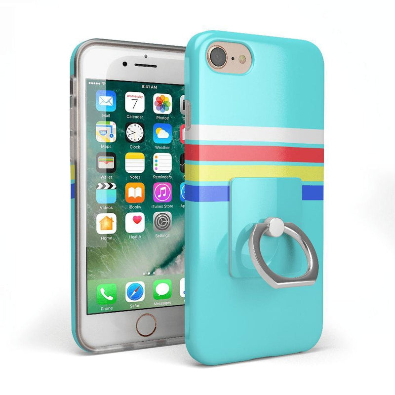 Classic Electric Blue Phone Ring Phone Ring get.casely