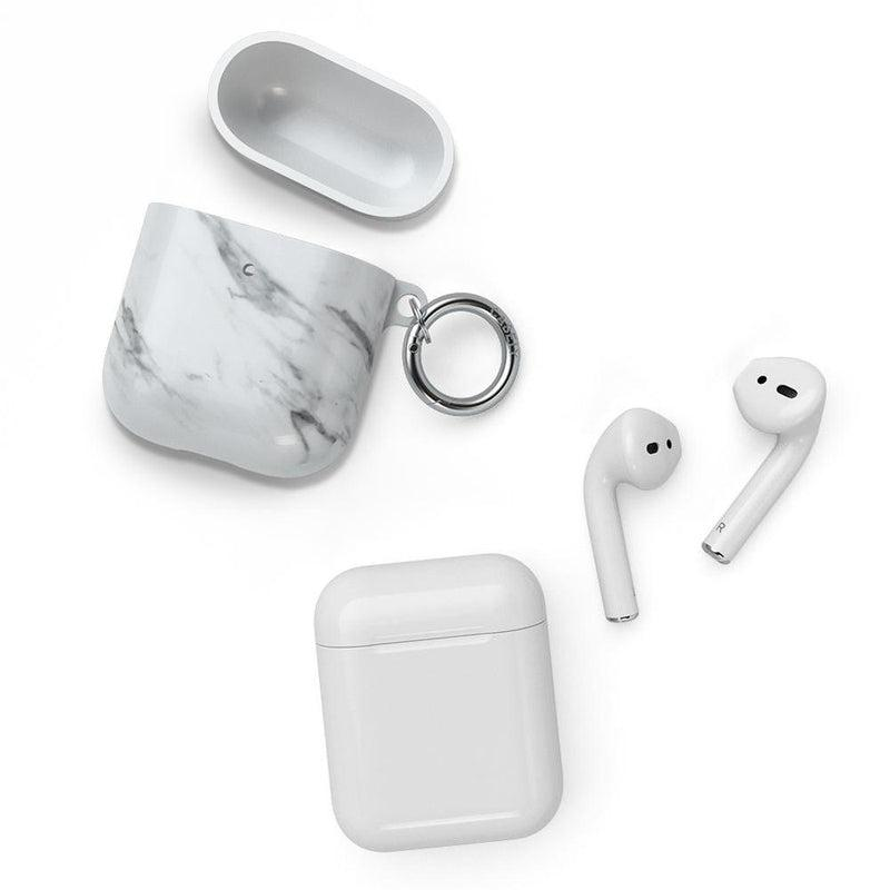 Classic White Marble AirPods Case AirPods Case CASELY