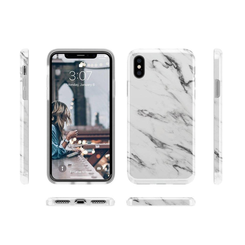 Classic White Marble Case iPhone Case Get.Casely