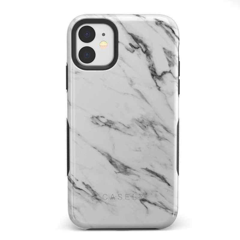 Classic White Marble Case iPhone Case Get.Casely Bold iPhone 11