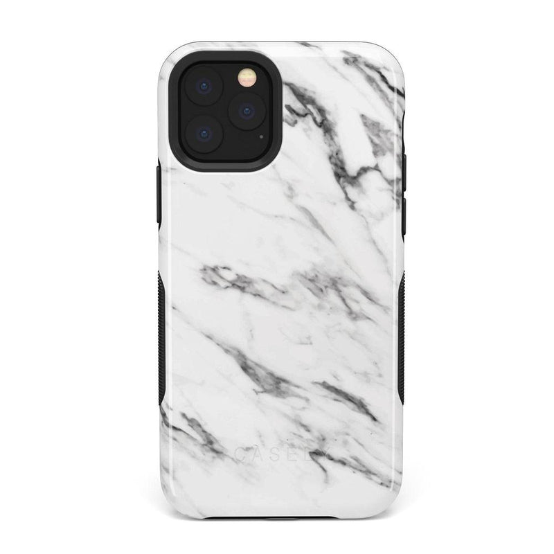 Classic White Marble Case iPhone Case Get.Casely Bold iPhone 11 Pro