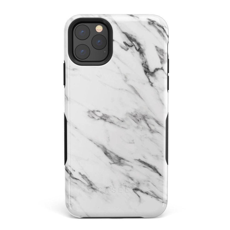 Classic White Marble Case iPhone Case Get.Casely Bold iPhone 11 Pro Max