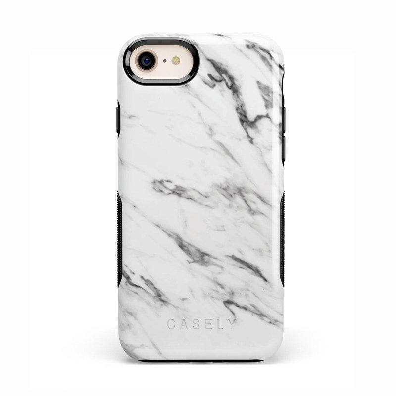 Classic White Marble Case iPhone Case Get.Casely Bold iPhone 8