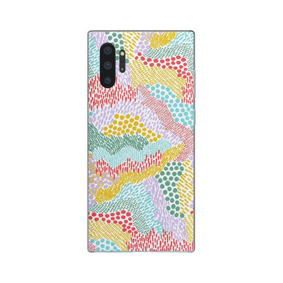 Color Me Happy | Pattern Colorblock Samsung Case Samsung Case get.casely Classic Galaxy S10