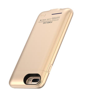 Crystal Gold Battery-Powered Charging Case iPhone Case get.casely