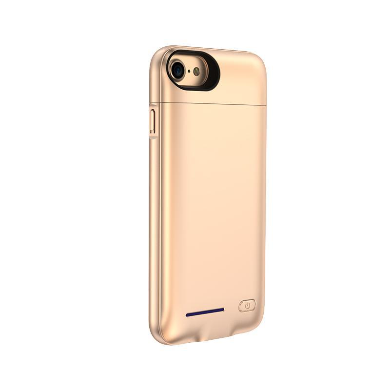Crystal Gold Battery-Powered Charging Case iPhone Case get.casely iPhone 8
