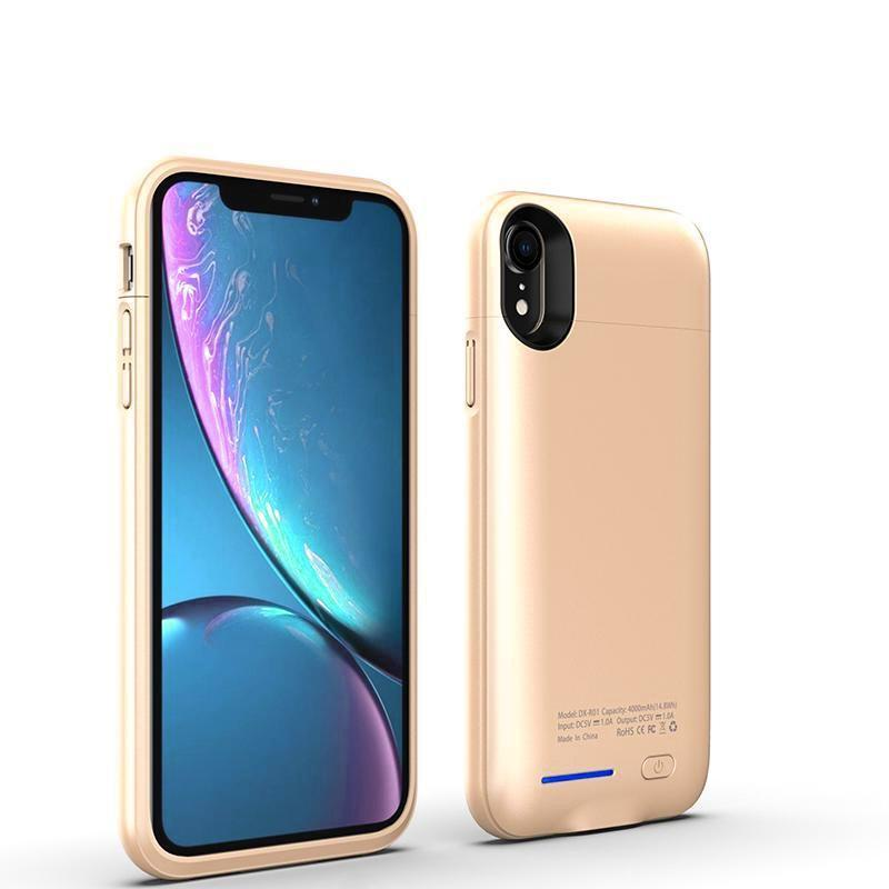 Crystal Gold Battery-Powered Charging Case iPhone Case get.casely Power iPhone XS Max
