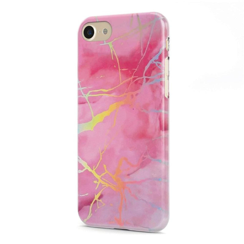 Cute Pink Marble Holo Case iPhone Case Get.Casely